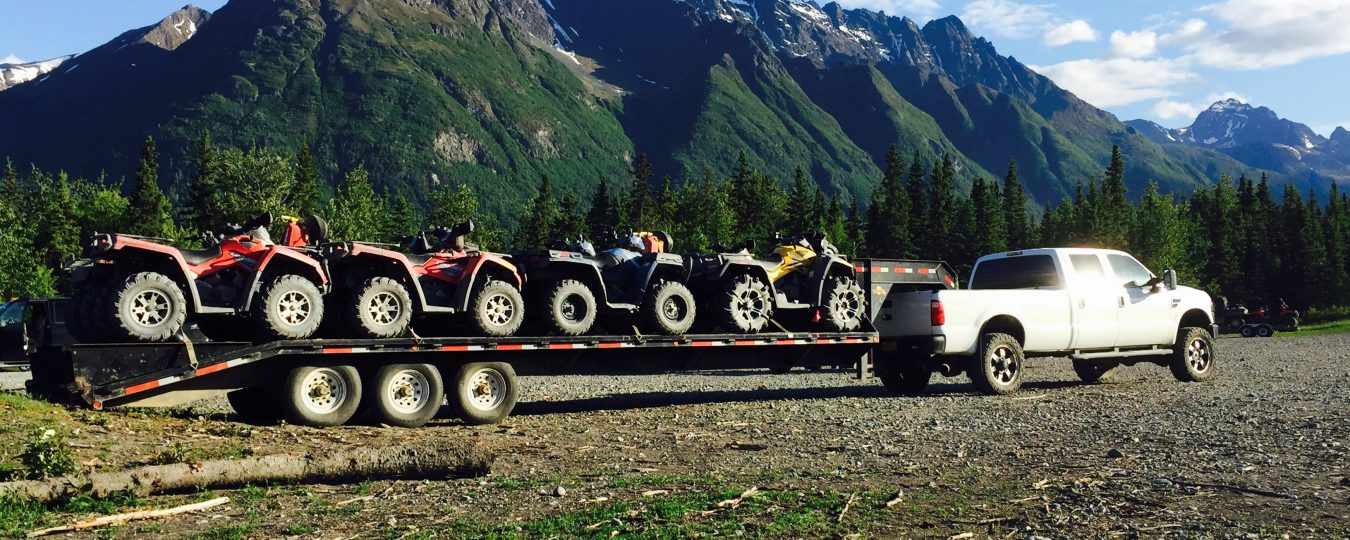 If you are looking for the top four wheeler rentals in Anchorage, consider renting-to-ride from Alaska Toy Rentals.